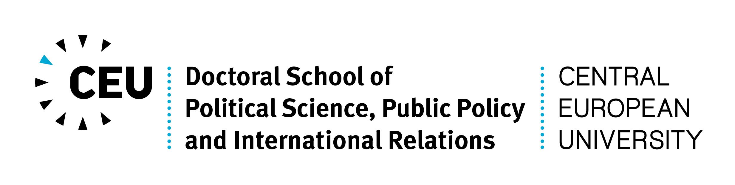 CEU Doctoral School of Political Science, Public Policy and International Relations