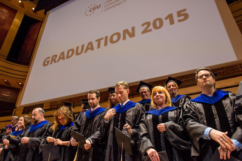 CEU Graduation Ceremony 2015