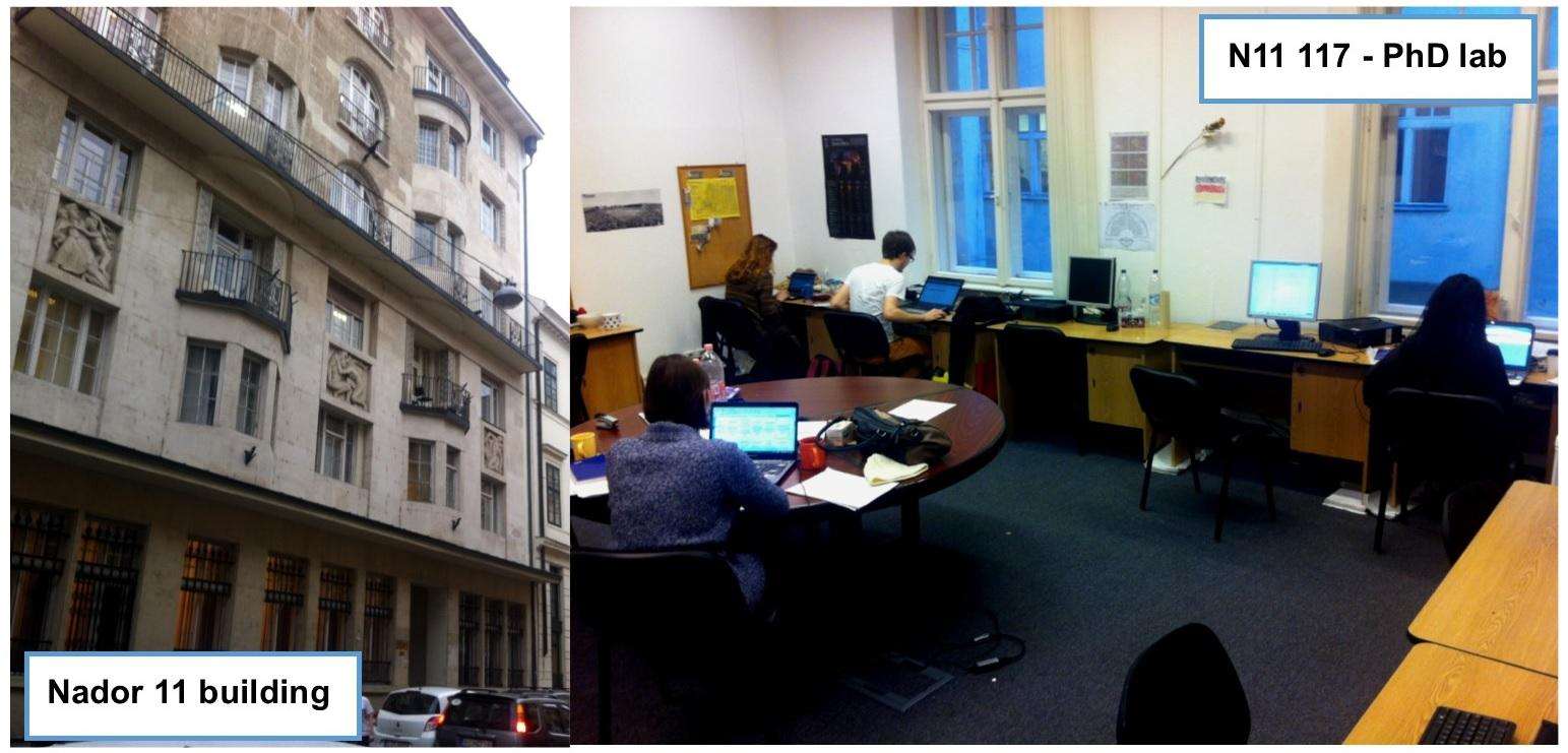 CEU PhD computer labs